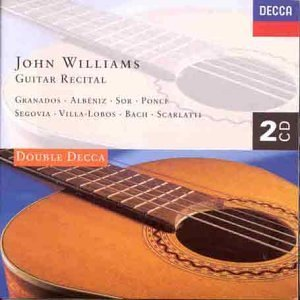 Album John Williams: Guitar Recital by John Williams