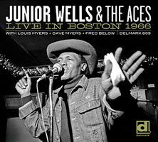 Album Live In Boston 1966 by Junior Wells