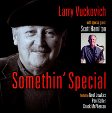 Album Somethin' Special by Larry Vuckovich