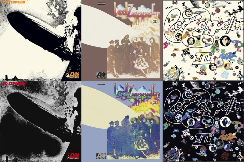 Led Zeppelin Remastered: The First Batch (I, II & III)