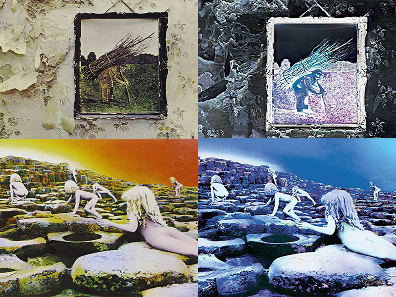 led zeppelin remastered the second batch iv houses of the holy. Black Bedroom Furniture Sets. Home Design Ideas