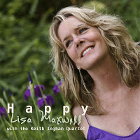 Lisa Maxwell with the Keith Ingham Quartet: Happy