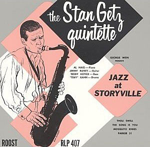 "Read ""Stan Getz Quintette: Jazz At Storyville"" reviewed by Chris May"