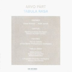 Arvo Part: Tabula Rasa