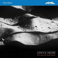 Album Onyx Noir - Jazz Works For Brass Quintet by Amos Miller