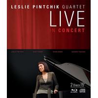 Leslie Pintchik Quartet: Live in Concert [CD/DVD]