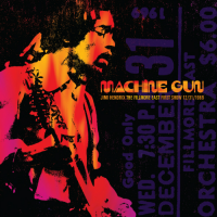 Jimi Hendrix: Machine Gun: Live At The Fillmore East First Show