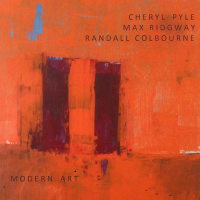 Cheryl Pyle: MODERN ART -11th street music- 2014- with Cheryl Pyle -flute  & poetry, Max Ridgway -guitar , acoustic bass, and Randall Colbourne drums.
