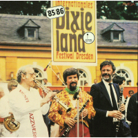 Internationales Dixieland Festival – Dresden 1985/86 (GDR, LP, 1986)