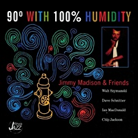 Album 90 Degrees With 100% Humidity by Jimmy Madison