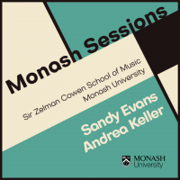 Album Monash Sessions: Sandy Evans & Andrea Keller by Sir Zelman Cowen School of Music, Monash University