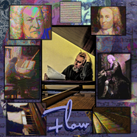 Album Flow: The Music of J. S. Bach and Tobin Mueller by Tobin Mueller