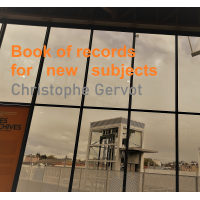 Album Book of records for new subjects by Christophe Gervot