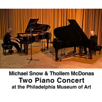 Album Michael Snow and Thollem McDonas: Live at the Philadelphia Museum of Art by Thollem McDonas