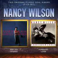 Album Keep You Satisfied / Forbidden Lover by Nancy Wilson