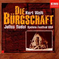 Album Die Buergschaft by Kurt Weill by Ralph Hepola