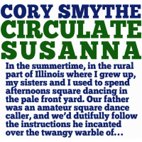 Album Circulate Susanna by Cory Smythe