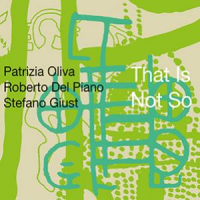 "Stefano Giust: Patrizia Oliva / Roberto Del Piano / Stefano Giust ""That Is Not So"""