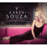 "Jazz Singer/Songwriter Karen Souza To Release Highly Anticipated New Album ""Velvet Vault"" on December 1, 2017"