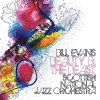 Album Beauty And The Beast feat. Bill Evans by The Scottish National Jazz Orchestra