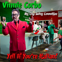 Album Yell If You're Italian by Vinnie Corbo