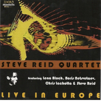 Steve Reid Quartet Live In Europe by Lena Bloch