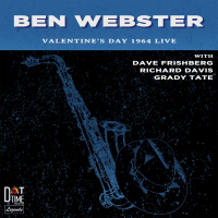 Valentine's Day 1964 Live - showcase release by Ben Webster