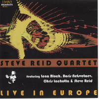 Album Steve Reid Quartet Live In Europe by Steve Reid