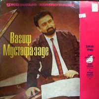 Album Jazz Compositions Trio by Vagif Mustafa Zadeh