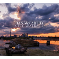 Album City Abstract by Dan McCarthy