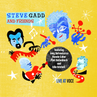 Album Live at Voce by Steve Gadd