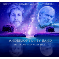 "Music Icons Jon Anderson & Jean Luc Ponty To Release New CD/DVD ""Better Late Than Never"""