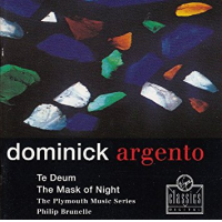 Te Deum; The Mask of Night by Dominick Argento