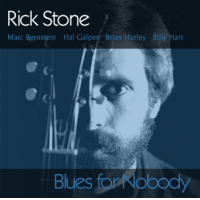 Album Blues for Nobody by Rick Stone (Guitar)