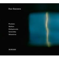 Duo Gazzana: Poulenc Walton Dallapiccola Schnittke Silvestrov