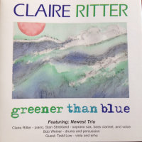 Greener Than Blue by Claire Ritter