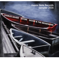 Happy Note Records Sampler 2016 Compilation Album Feat. Vinnie Colaiuta, Sam Riney, Warren Gayle, Tony Newton & Others