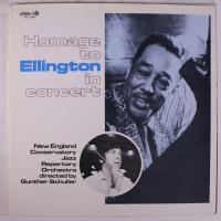 Album Homage To Ellington In Concert by Gunther Schuller