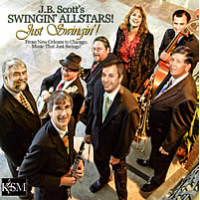Album Just Swingin',! JB Scott's Swingin' Allstars by Lisa Kelly