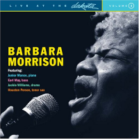 Album Live At The Dakota by Barbara Morrison
