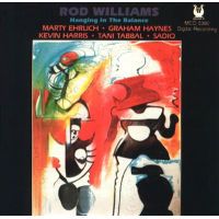 Album Hanging In The Balance by Rod Williams
