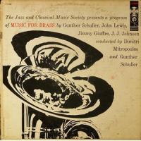Album Music For Brass by Gunther Schuller