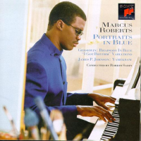 Album Portraits in Blue by Marcus Roberts