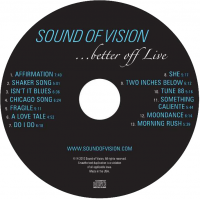 Album Sound Of Vision-Better Off Live by Scott Klarman