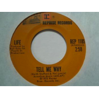 Vel Lewis: Tell Me Why (single)