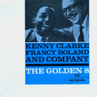 Album The Golden 8 by Kenny Clarke