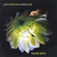 Yellow Flower with Snail by Lucas Pino