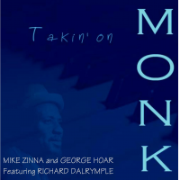 Album Takin' on Monk by Mike Zinna