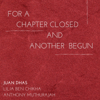 """""""For A Chapter Closed, And Another Begun"""" by"""