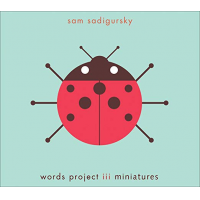 Sam Sadigursky: Words Project III Miniatures